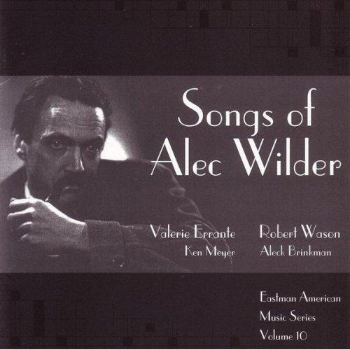 Songs Of Alec Wilder Album Cover
