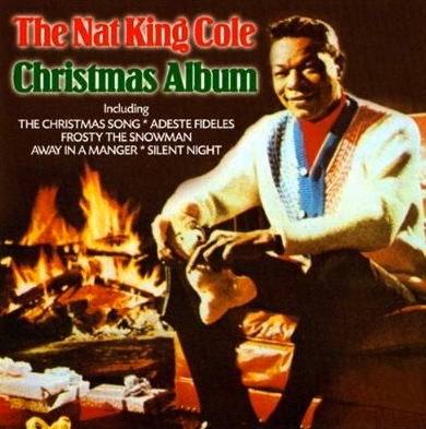 Nat King Cole Christmas Album Cover