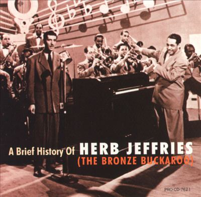 Herb Jeffries singing with the Duke Ellington orchestra