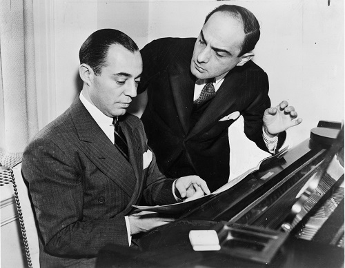 photo of songwriting team of Richard Rodgers and Lorenz Hart