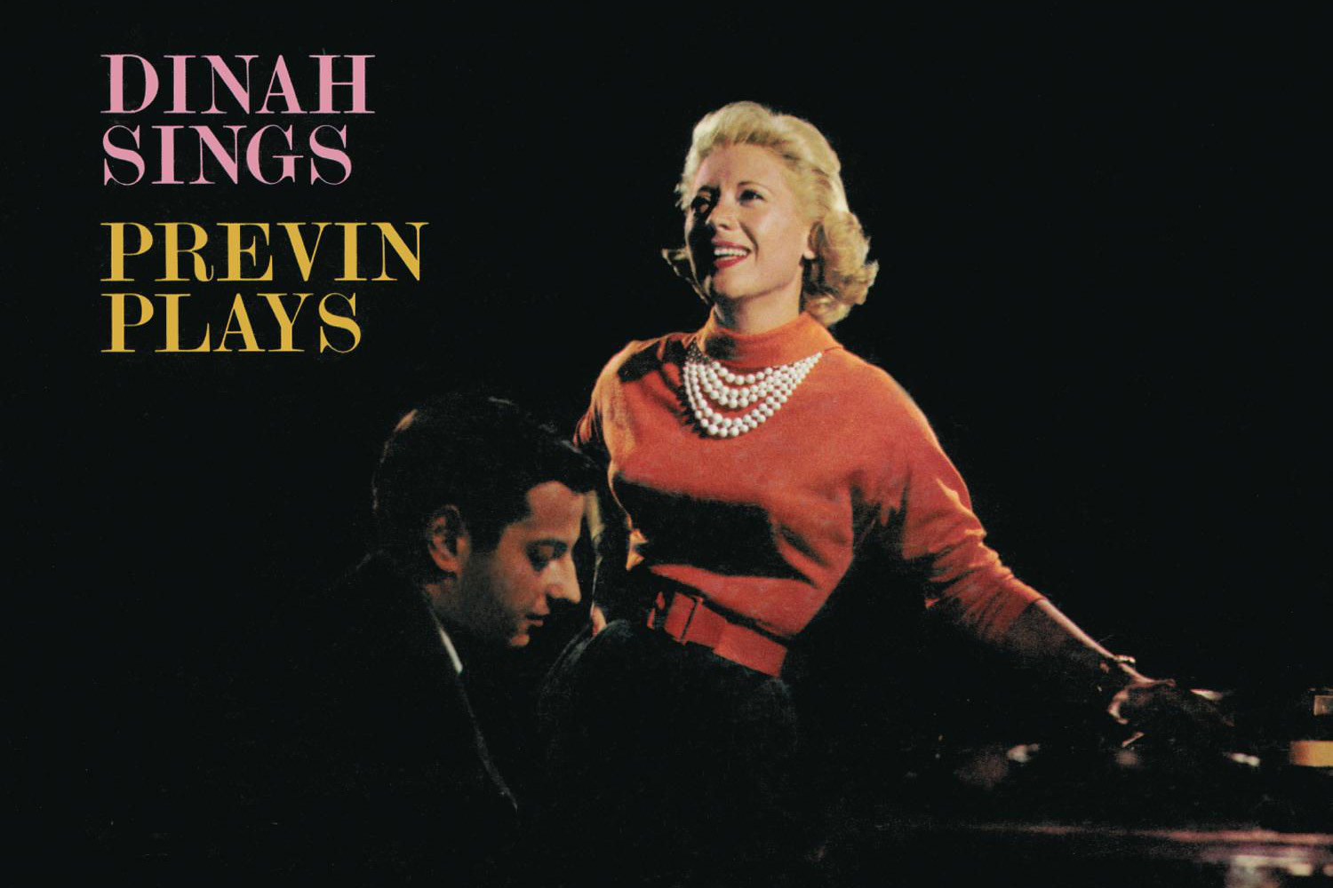 """""""Dinah Sings / Previn Plays,"""" Dinah Shore's 1960 Capitol release, teams the singer up with pianist André Previn for a collection of intimate recordings of favorites from the Great American Songbook."""