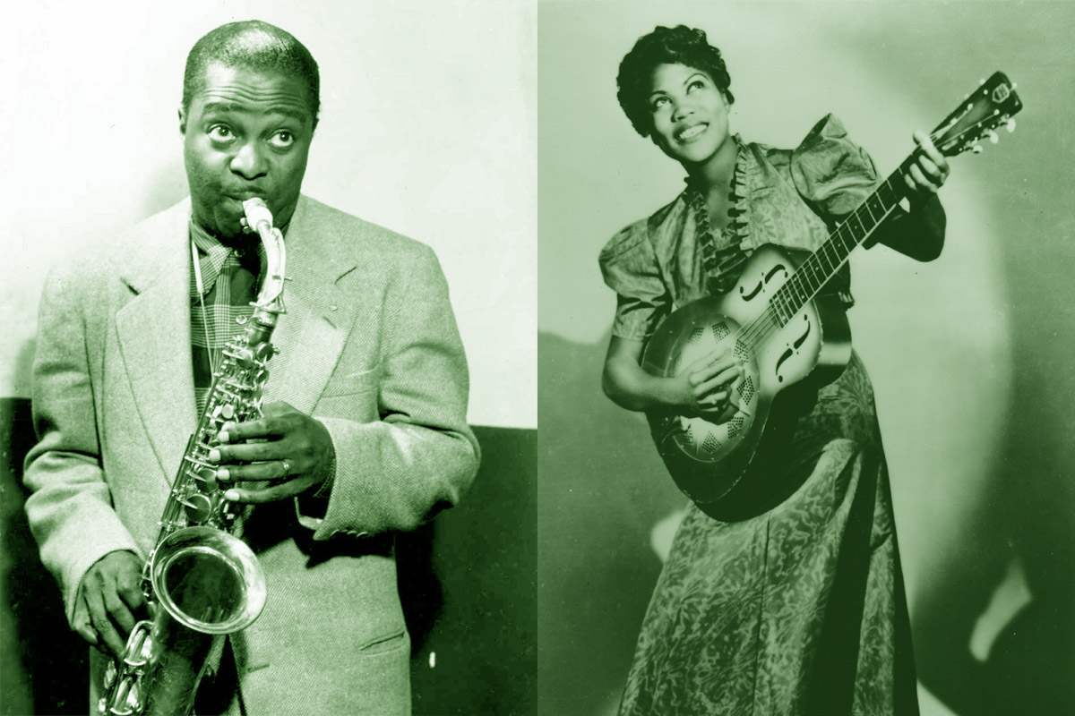 Louis Jordan and Rosetta Tharpe