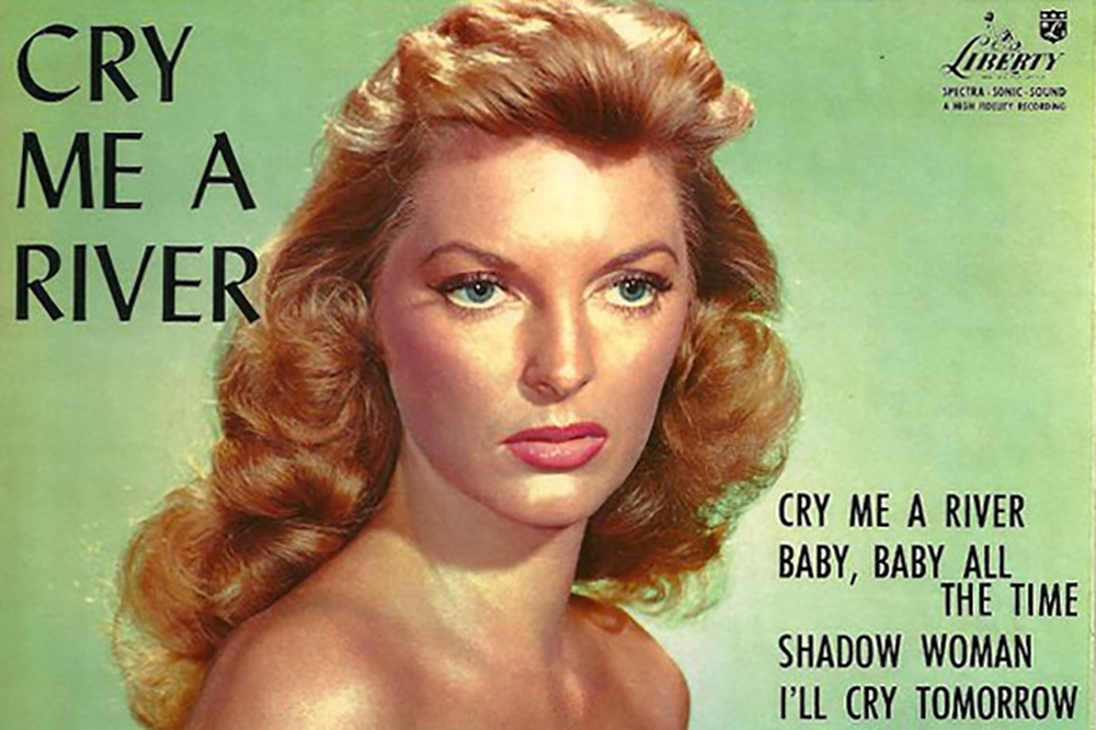 """Julie London's definitive 1955 version of the Arthur Hamilton song """"Cry Me A River"""" is part of the Library of Congress's National Recording Registry."""