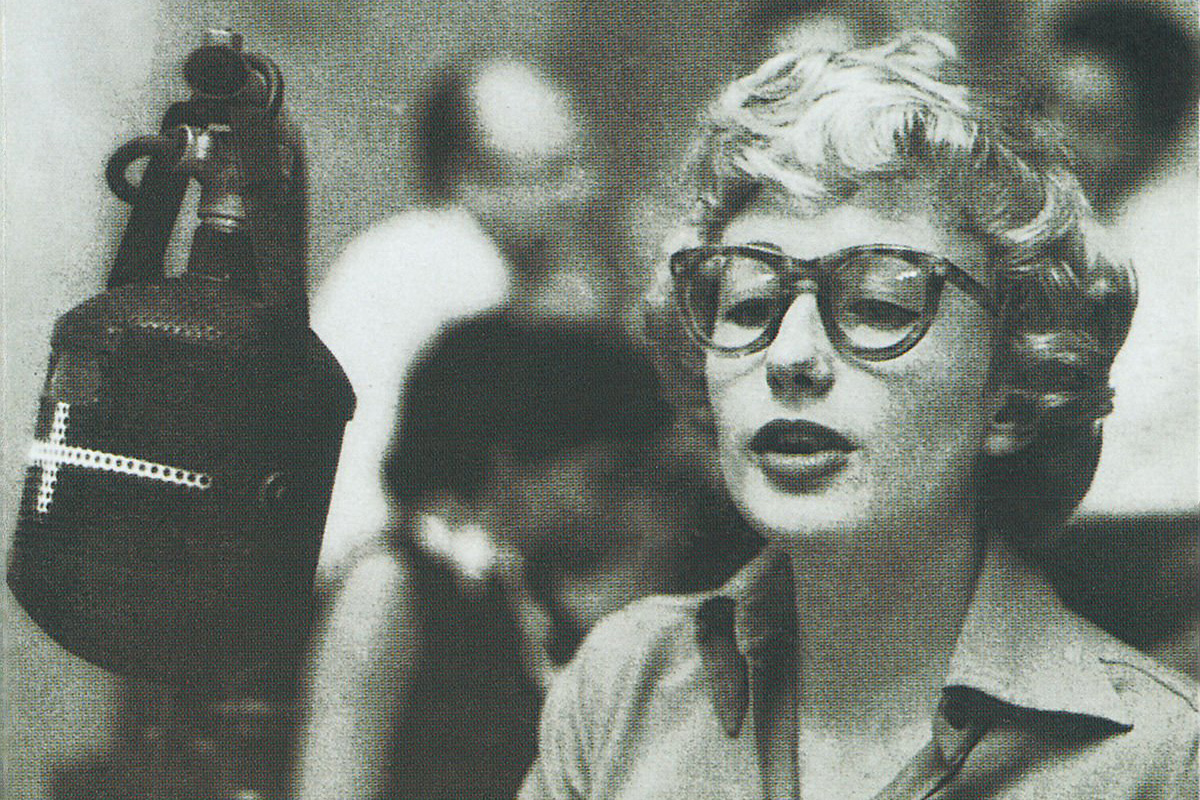 Blossom Dearie's first Verve album, a self-titled album, was recorded in 1956 and features Ray Brown on bass, Herb Ellis on guitar, Jo Jones on drums, and Dearie herself on piano and vocals.