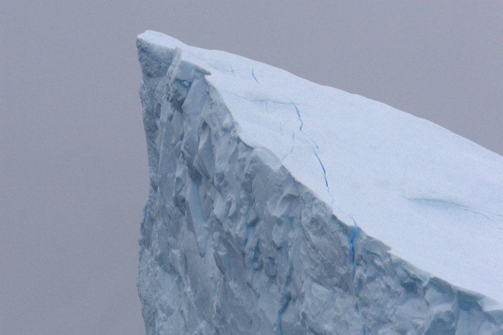 the tip of an iceberg