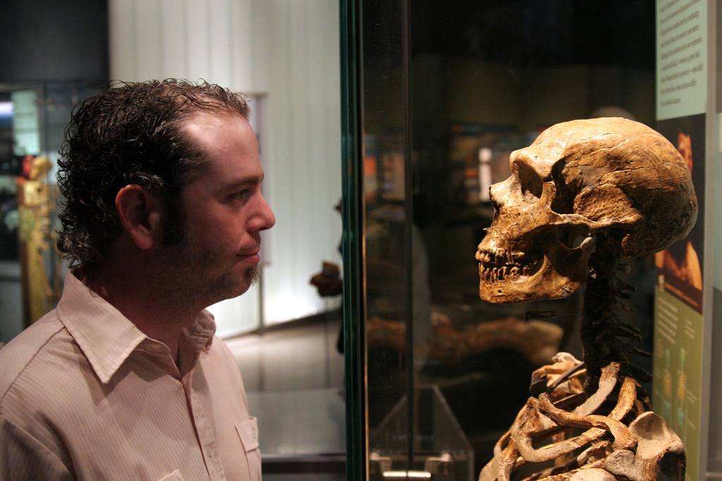man and neanderthal