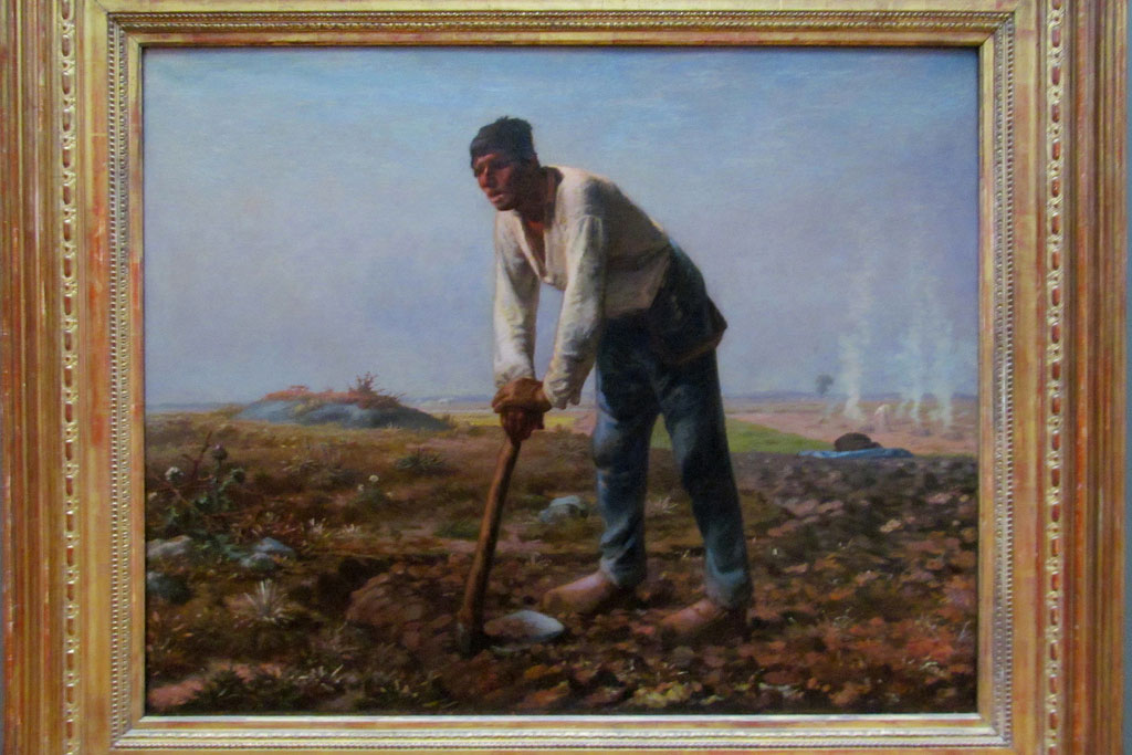 jean millet's work in frame