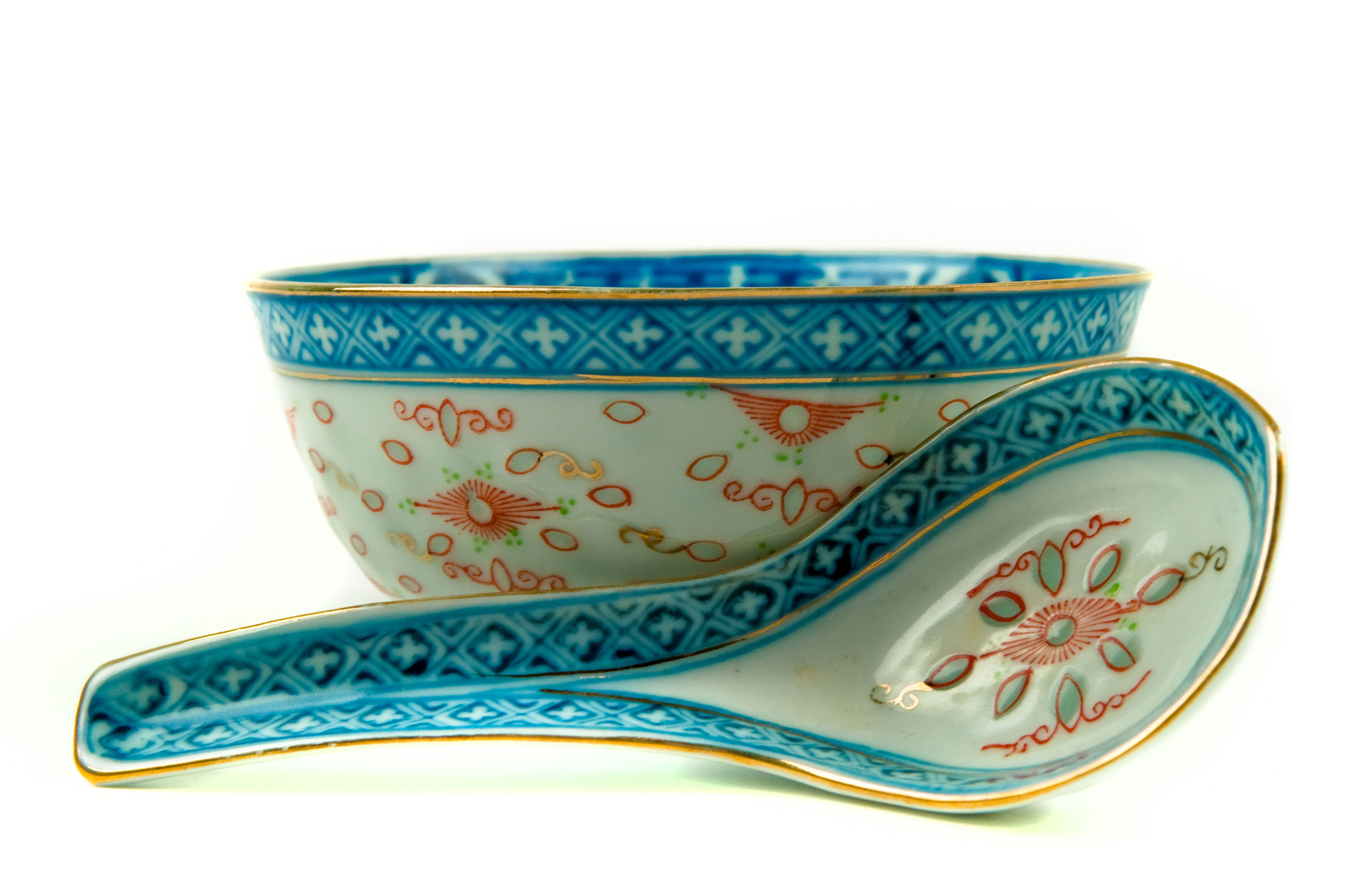 A Chinese bowl and ladle