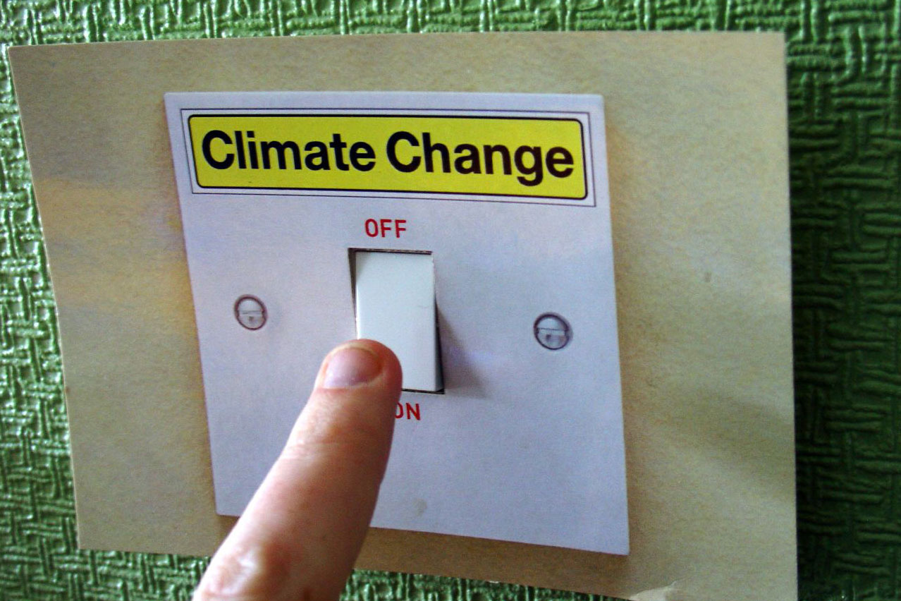 climate change on/off switch