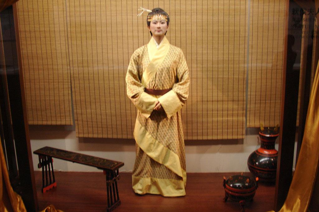 a museum reconstruction of Xin Zhui