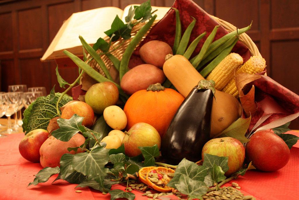 a vegetarian cornucopia