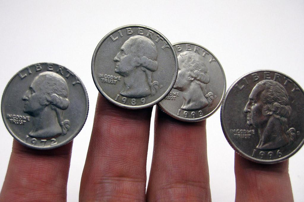 Quarters (Joe Loong, Flickr)