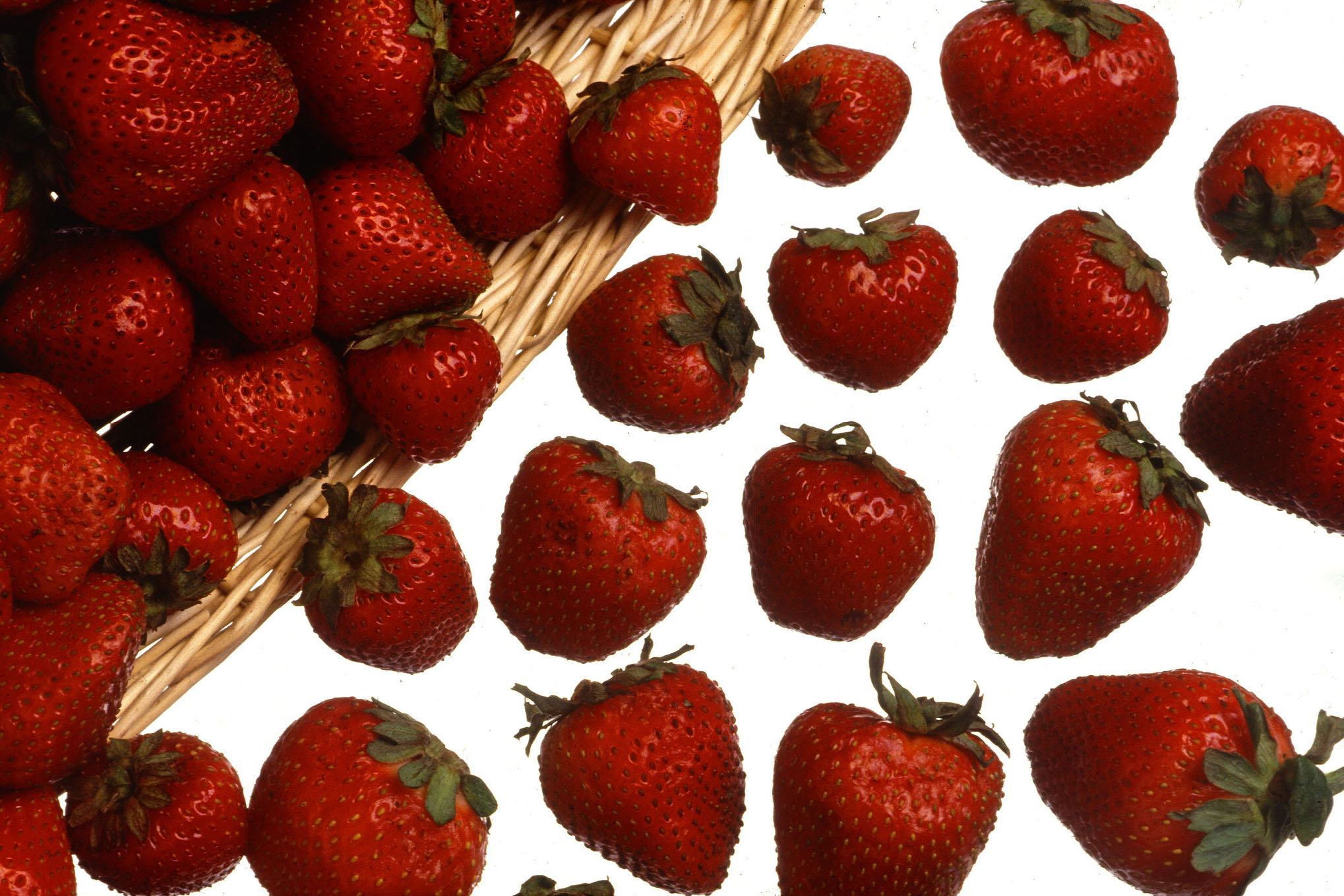Strawberries are a complex carbohydrate. (Keith Weller, USDA/Flickr)