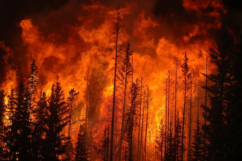 A photo of a controlled burn in West Alberta Canada. (Cameron Strandberg, Flickr)