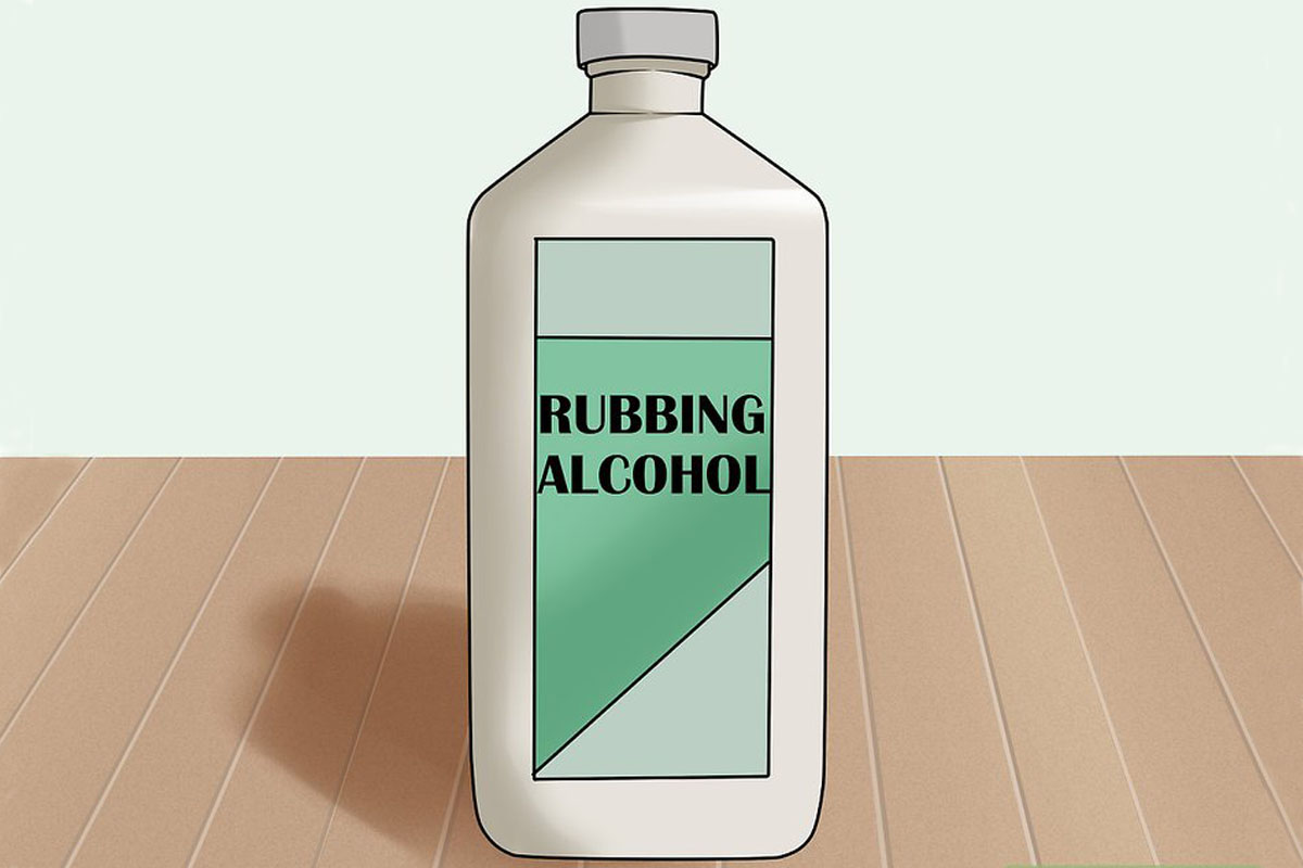 Rubbing alcohol often feels cold, even when the liquid is at room temperature.
