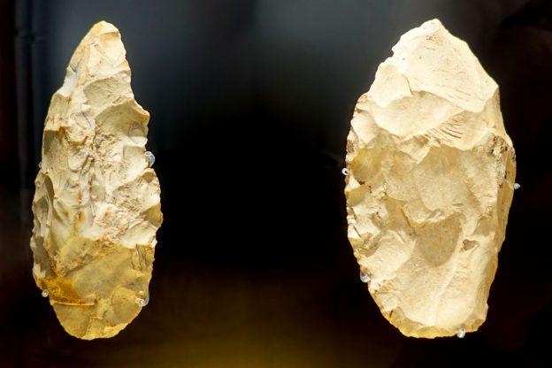 Photo of stone tools.