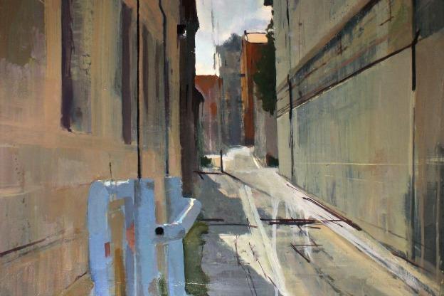 Bloomington Alleyway West (detail)