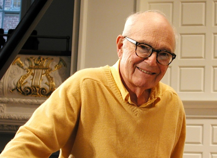 Composer Ezra Laderman