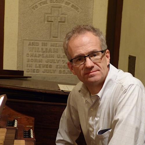 Organist Bruce Neswick