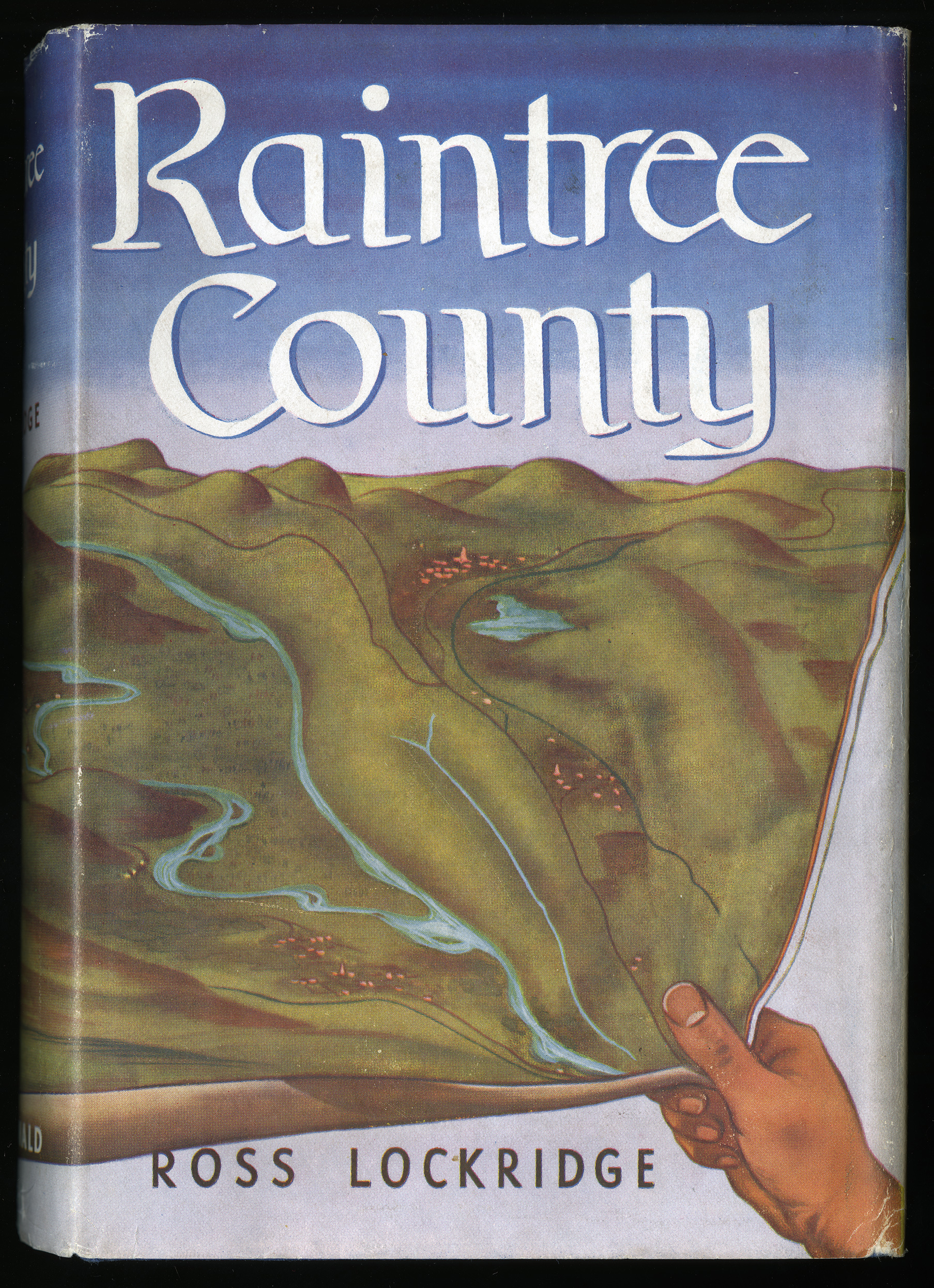 The cover for Ross Lockridge Jr.'s Raintree County