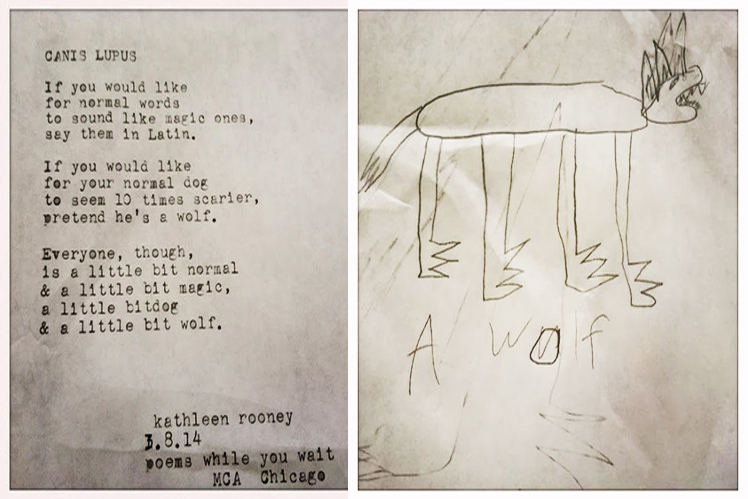 poem and drawing