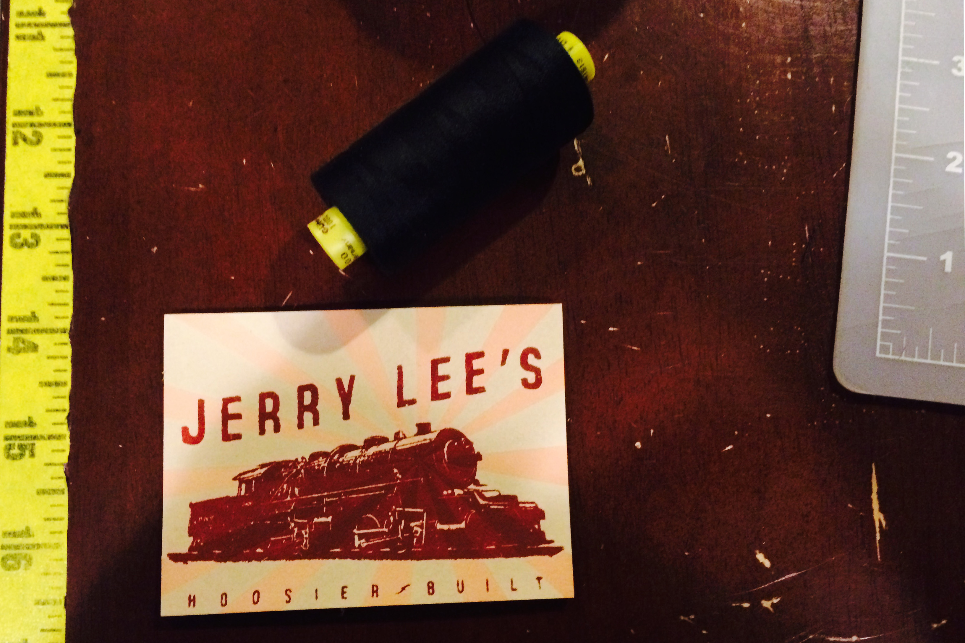 Jerry Lee's business card