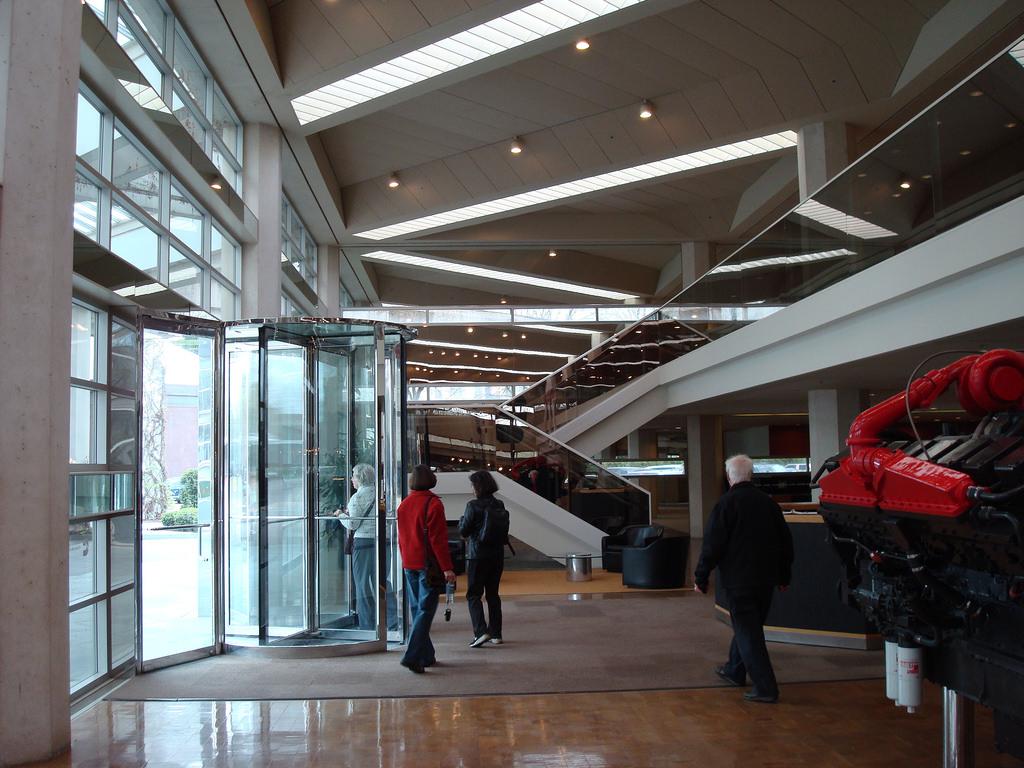 Cummins Corporate Office Building, interior