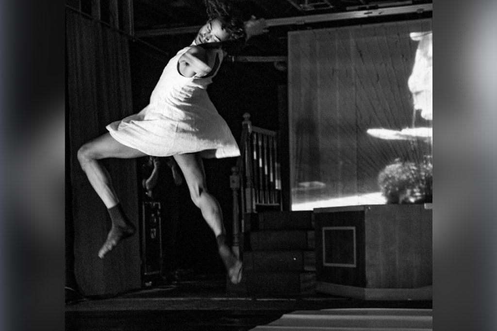 Jean Paul Weaver dancing.