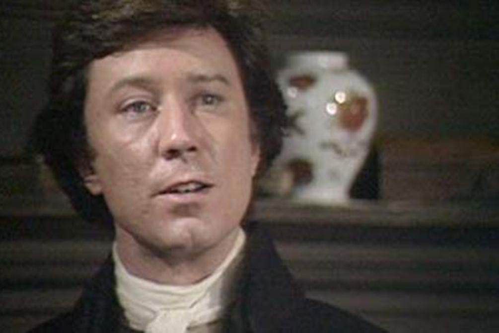 Robin Ellis as Ross Poldark in the original 1975 series.