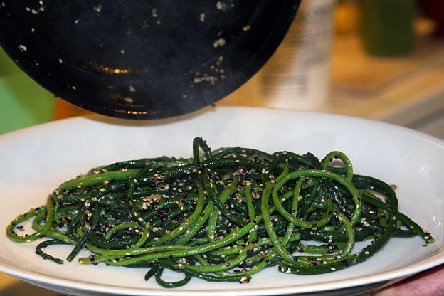 asian sesame long beans