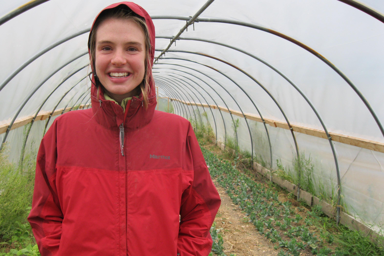 Rachel Beyer of Stranger's Hill Organics