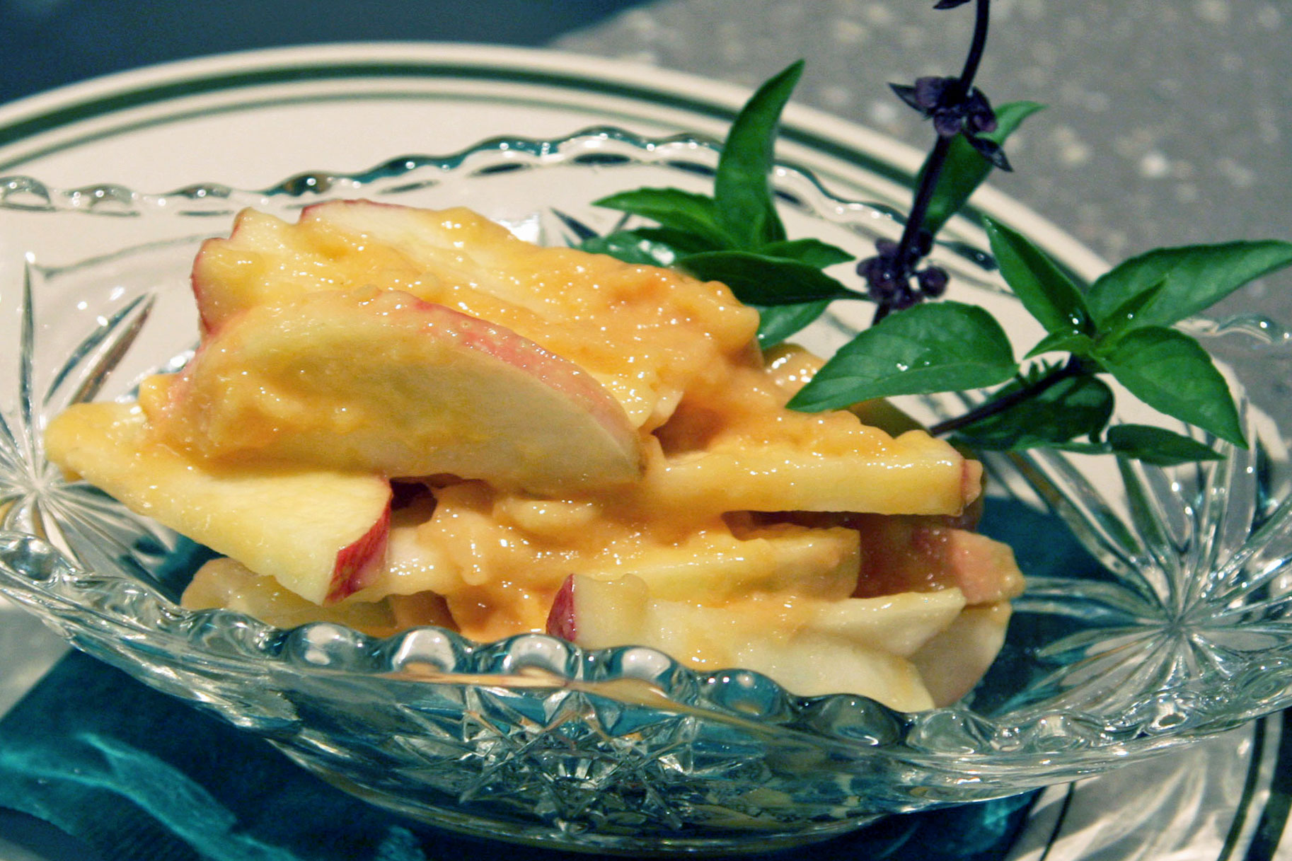 Paw Paw And Apple Salad
