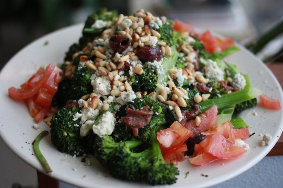 Tuscan-Style Roasted Broccoli