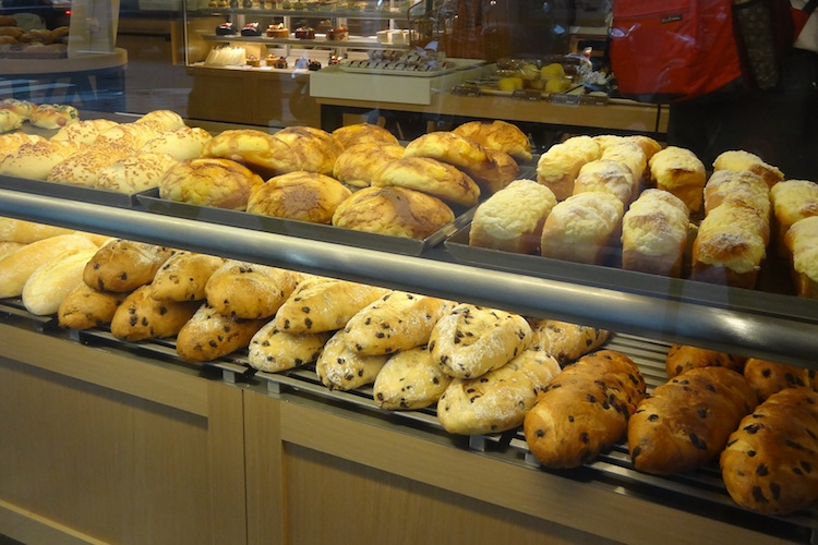 assorted taiwanese breads