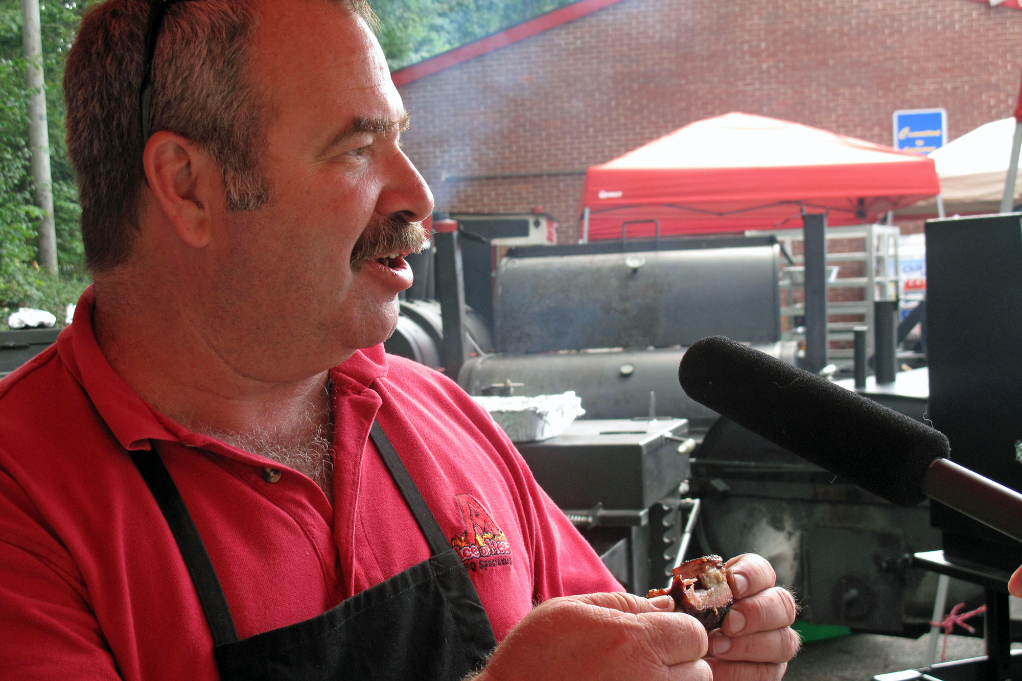 Chris Marks, barbeque champion