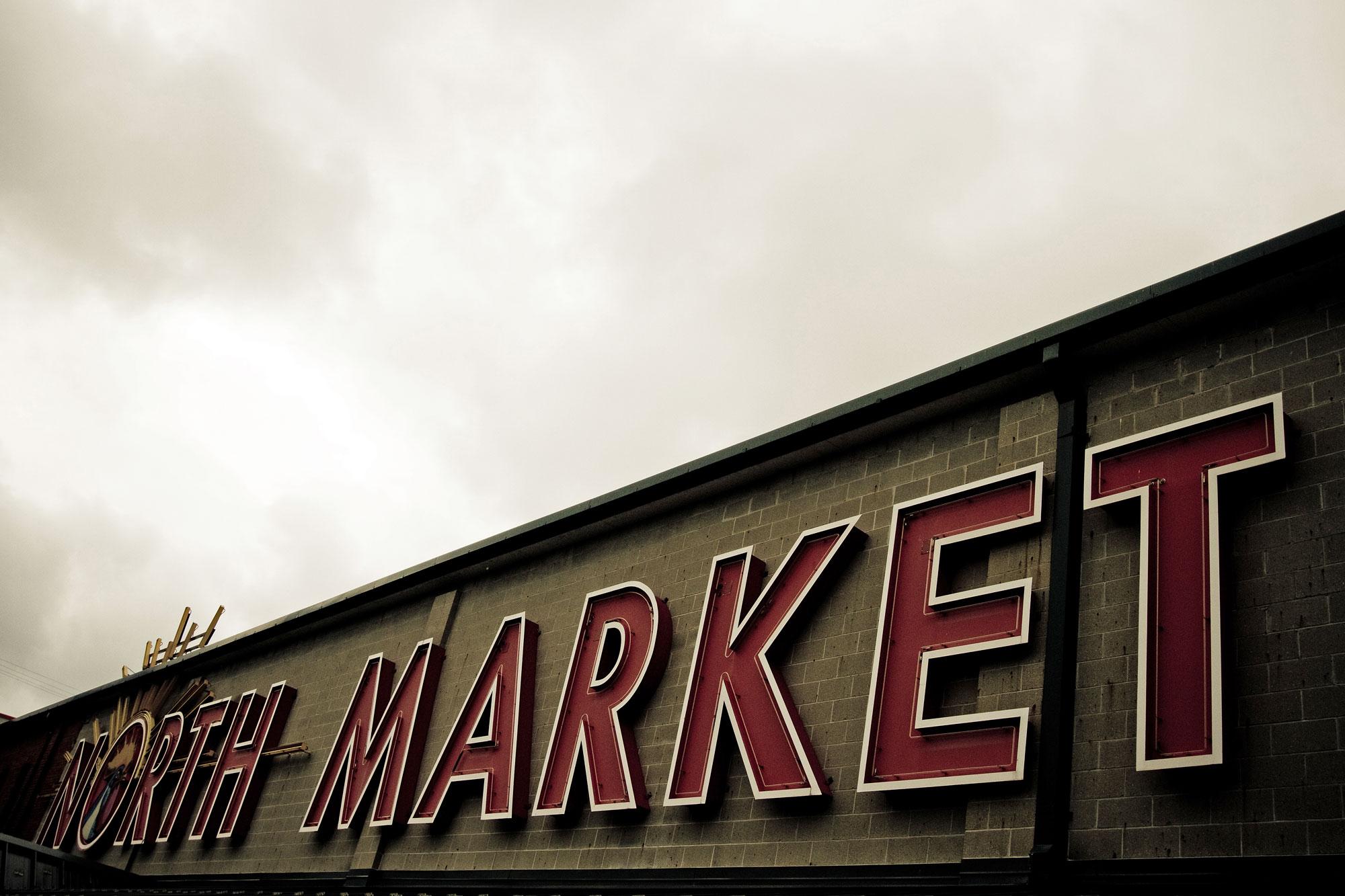 north market signage