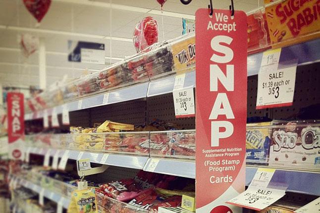 SNAP at the store