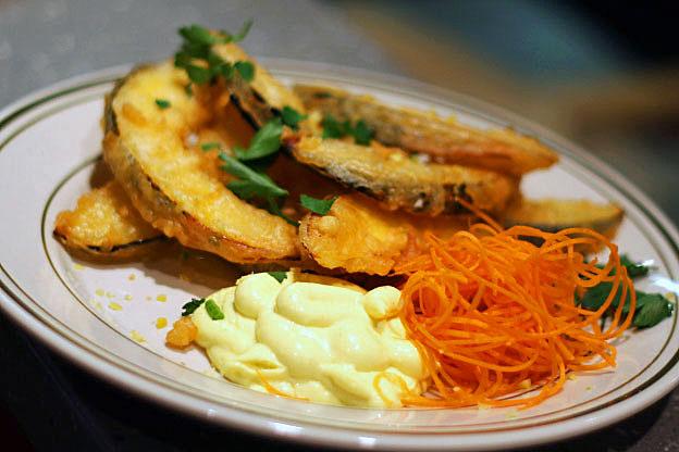 squash-tempura