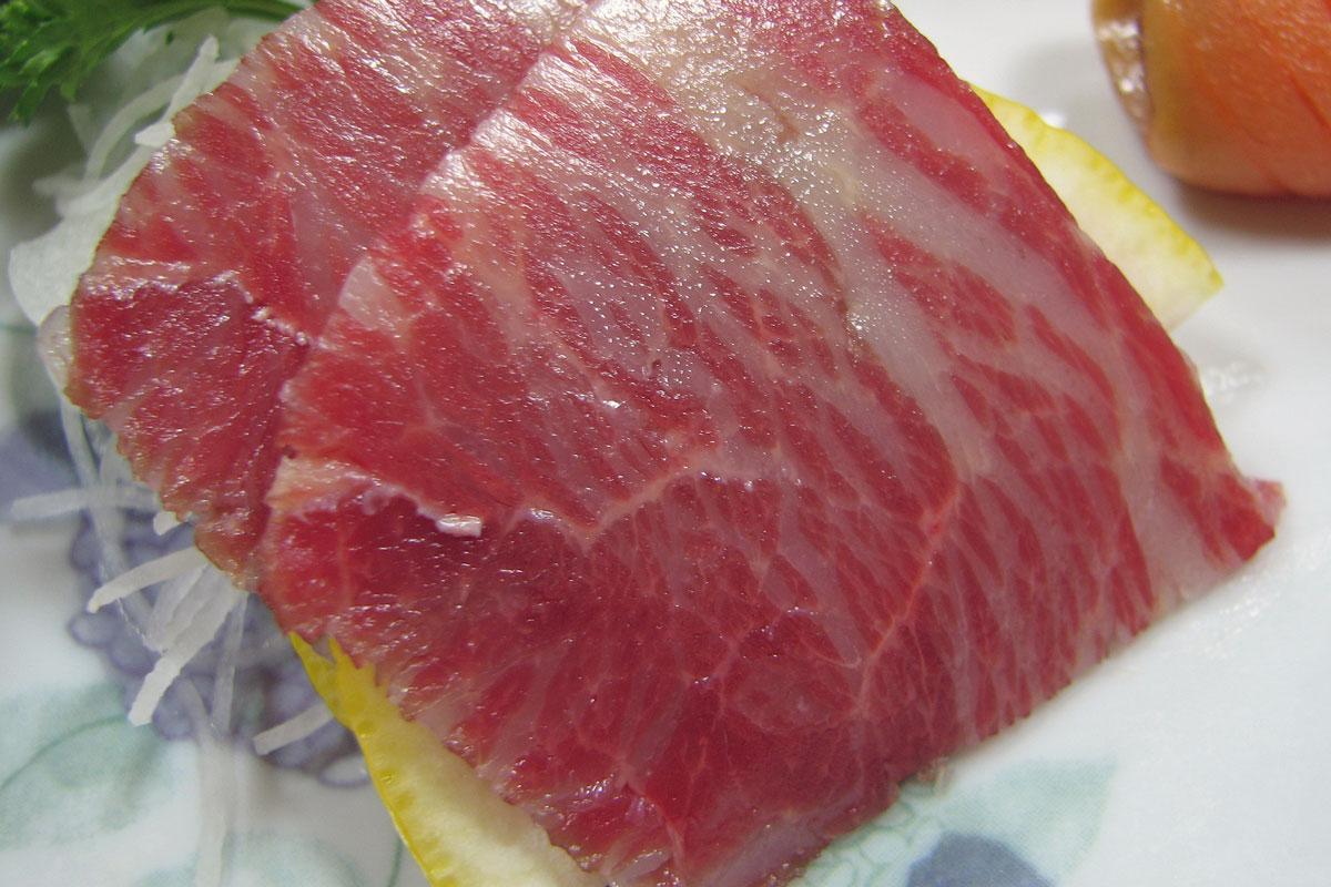 horsemeat sashimi