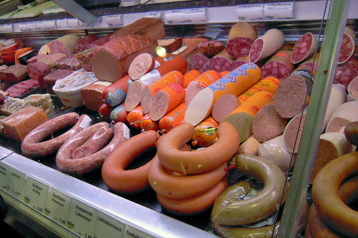 processed meats for sale