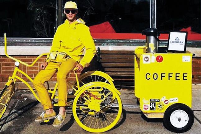 samuel sveen on his url zing tricycle