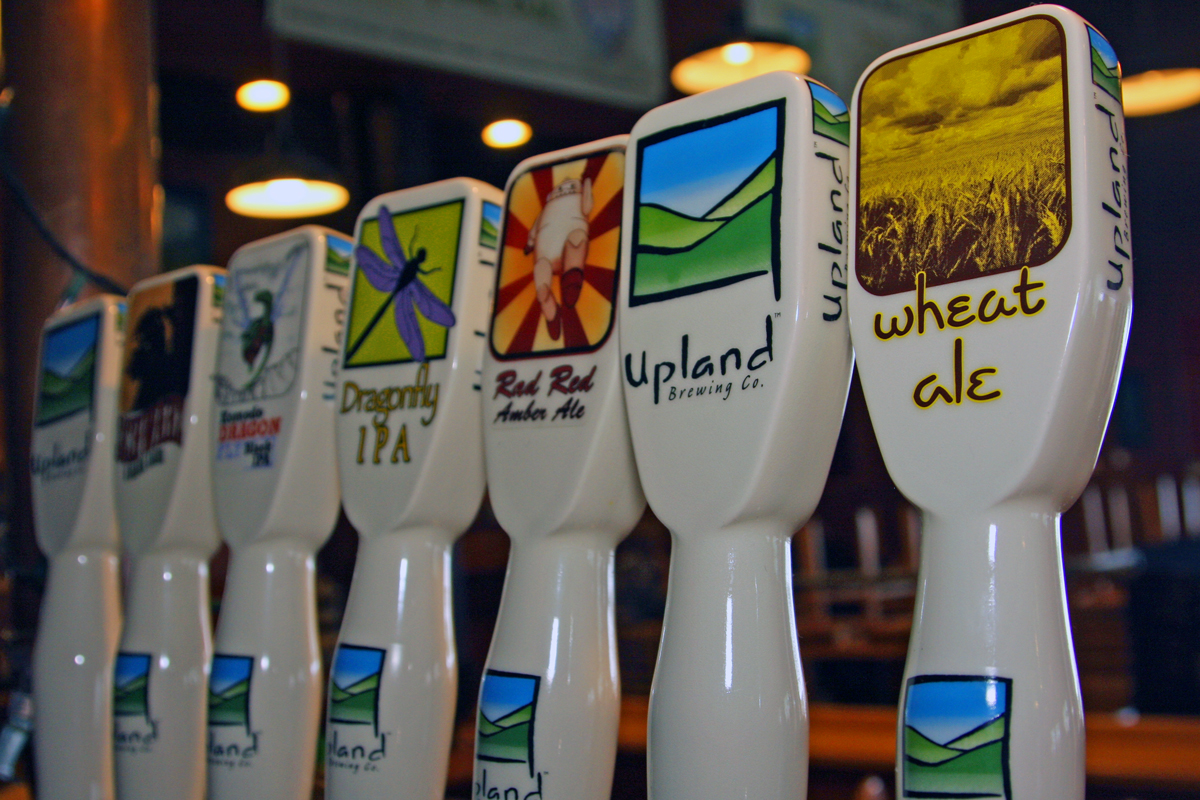 upland beer draught beer