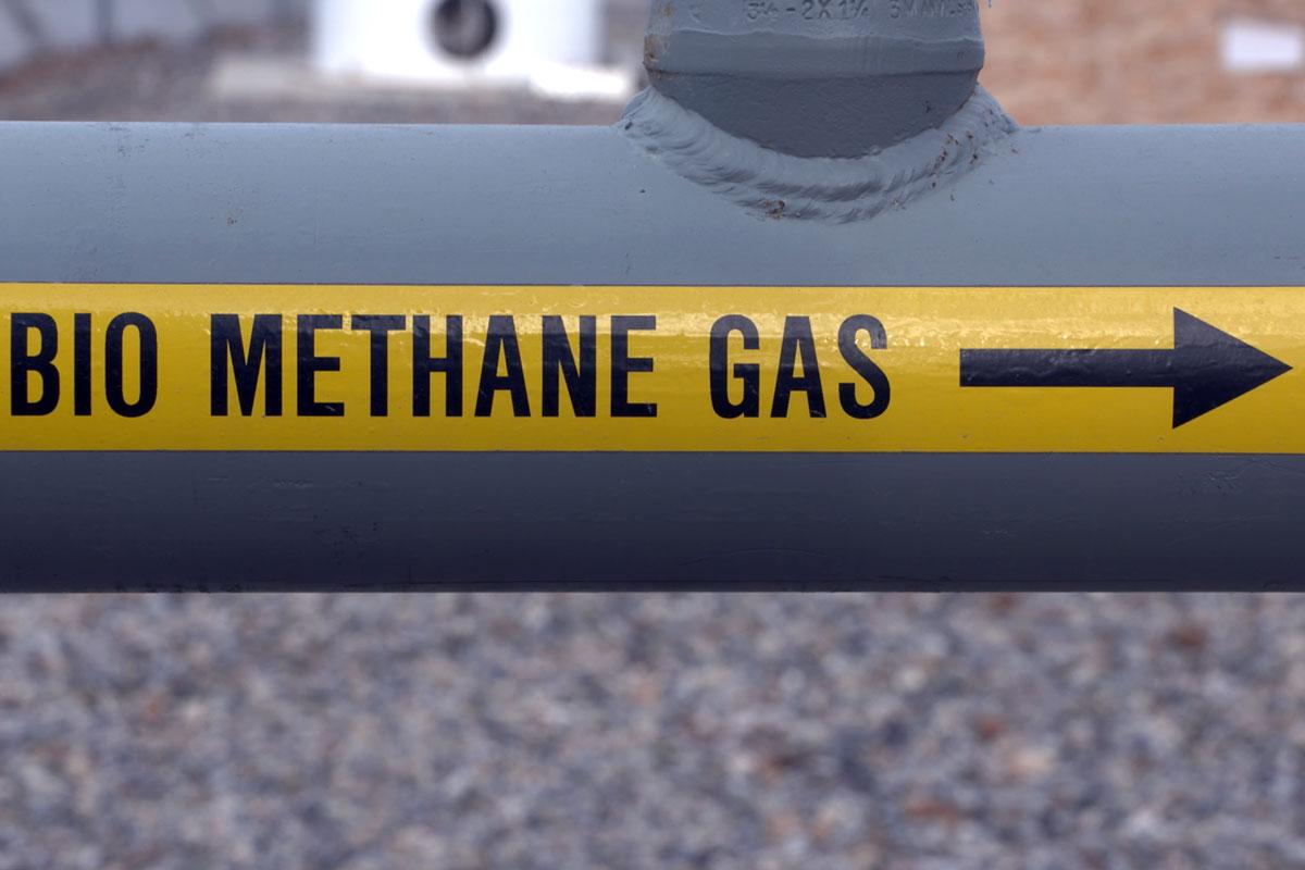 bio methane gas pipe