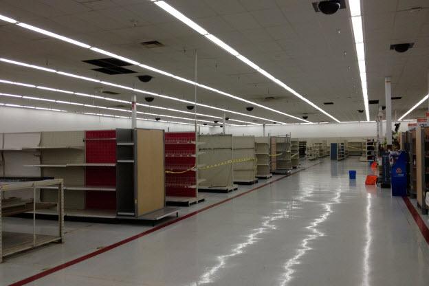 Empty Wal-Mart