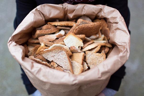 bread bits