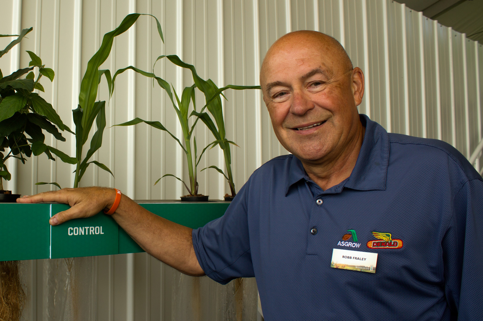 Monsanto chief technology officer Robb Fraley
