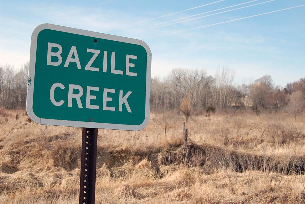 brazile creek sign