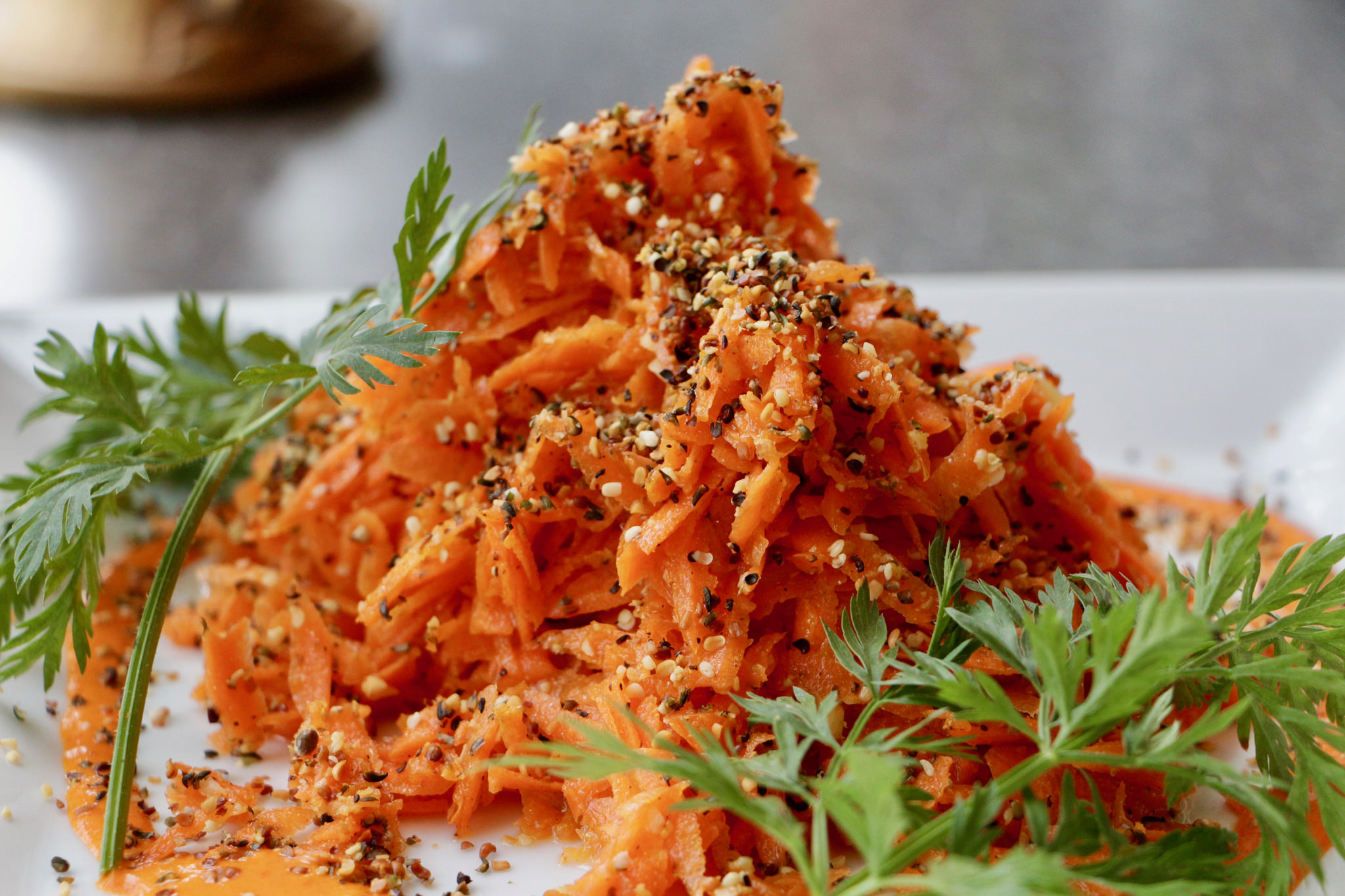 carrot orange salad