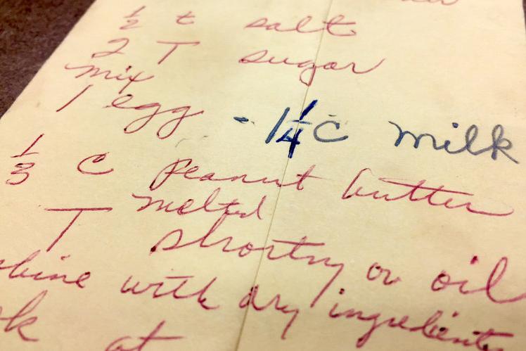 "Rosa Parks' ""Featherlite Pancake"" recipe."