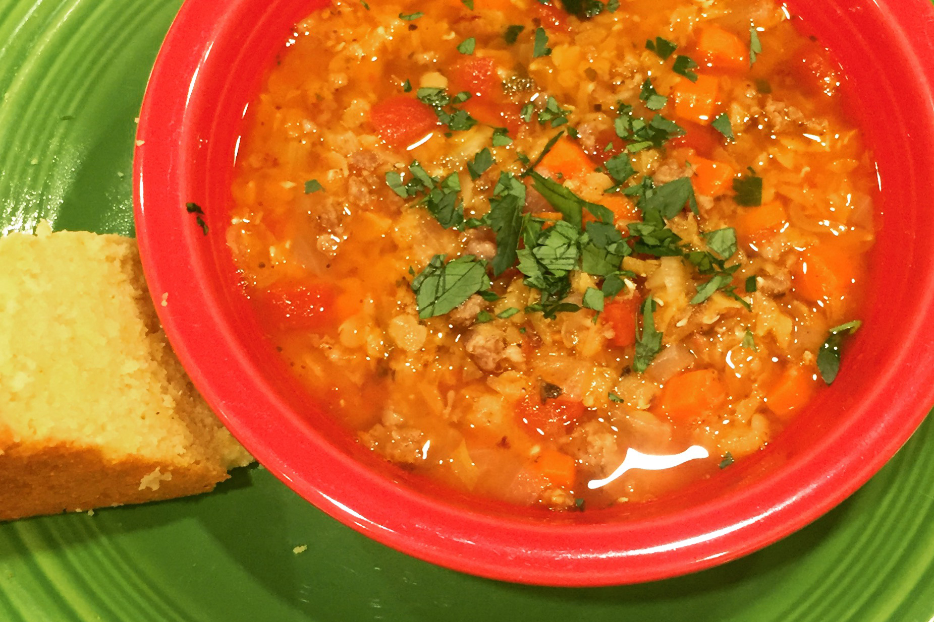 This soup is a one pot meal that comes together quite easily. Bake some corn bread while the soup cooks (Susan Mintert/Indiana Home Cooks)